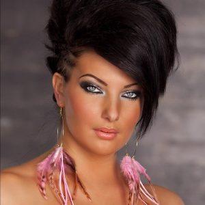 Ohrhänger~mit Federn~Boho Style~Rosa-0