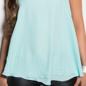 HOT☆˚LOOSE☆˚TOP☆GR.36-38/M/L☆˚MIT STRASSSTEINE☆MINT☆˚-0
