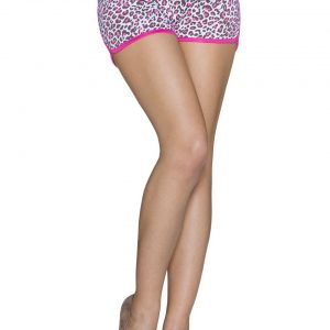 SCHÖNE~ HOTPANTS~MULTICOLOR-PINK~LEOPRINT~GR.38/XL-0