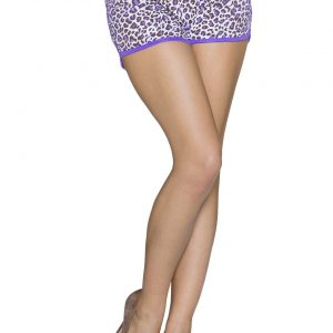 SCHÖNE~ HOTPANTS~MULTICOLOR-LILA~LEOPRINT~GR.38/XL-0